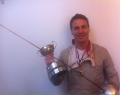 Chris Jupp - Hants FU sabre champion