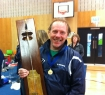 Gavin with the Wellesbourne Trophy