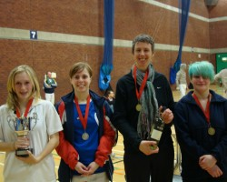 Women's Epee Results 2011